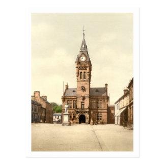 Town Hall, Annan, Dumfries and Galloway, Scotland Postcard