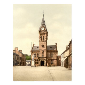 Town Hall, Annan, Dumfries and Galloway, Scotland Postcard