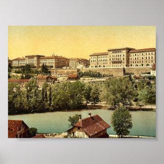 Town hall, Berne, Switzerland classic Photochrom Print
