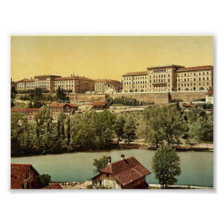 Town hall, Berne, Switzerland classic Photochrom Posters