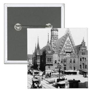 Town Hall, Breslau  Poland, c.1910 Buttons