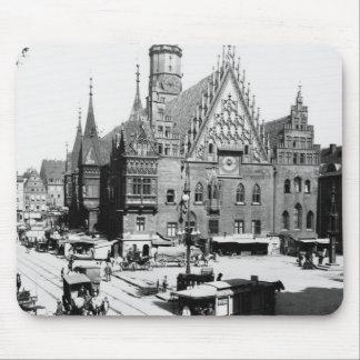 Town Hall, Breslau  Poland, c.1910 Mouse Pad