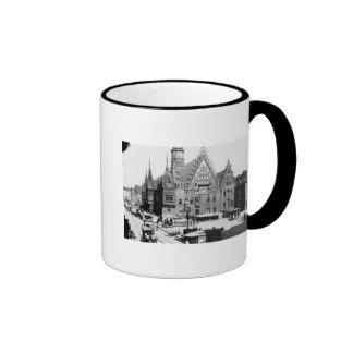 Town Hall, Breslau  Poland, c.1910 Coffee Mugs