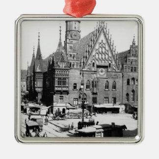 Town Hall, Breslau  Poland, c.1910 Christmas Tree Ornaments
