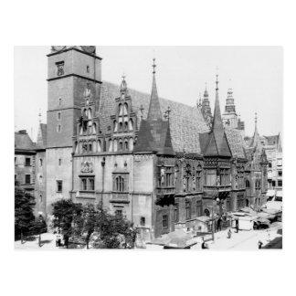 Town Hall, Breslau  Poland, c.1910 Postcard