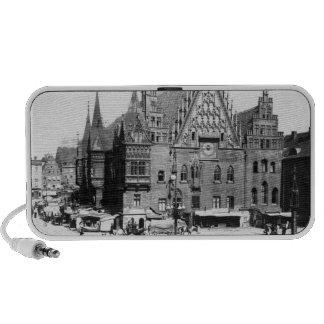 Town Hall, Breslau  Poland, c.1910 Mp3 Speakers