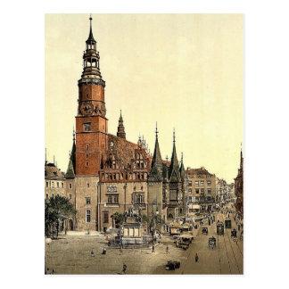 Town hall, Breslau, Silesia, Germany (i.e., Wrocla Postcard