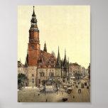 Town hall, Breslau, Silesia, Germany (i.e., Wrocla Print