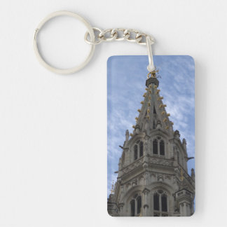 Town Hall, Brussels Keychain