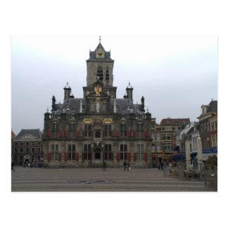 Town hall, Delft Postcard