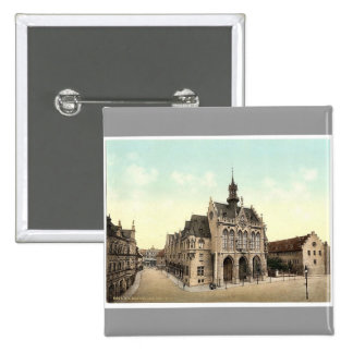 Town hall, Erfurt, Thuringia, Germany rare Photoch Pins