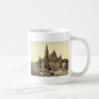 Town hall from the east, Breslau, Silesia, Germany Coffee Mugs