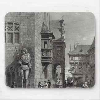 Town Hall, Halberstadt Mouse Pad