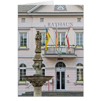 Town Hall in Remagen, Germany Card