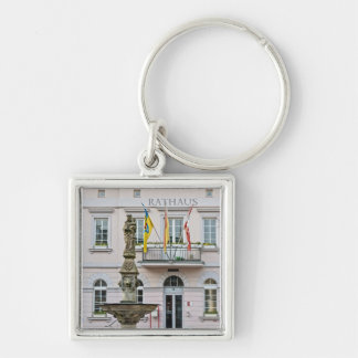 Town Hall in Remagen, Germany Keychain