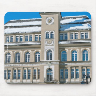 Town Hall in St Moritz, Switzerland Mouse Pad