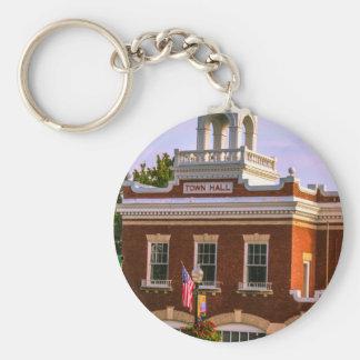 Town Hall Keychain