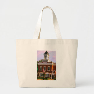 Town Hall Large Tote Bag