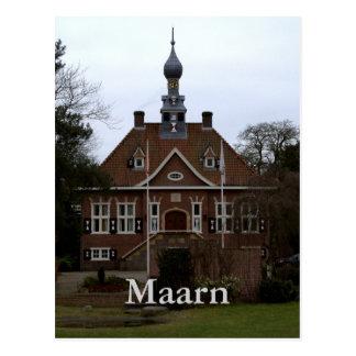 Town Hall, Maarn Postcard