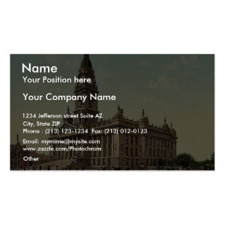 Town Hall, Portsmouth, England rare Photochrom Double-Sided Standard Business Cards (Pack Of 100)