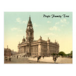 Town Hall, Portsmouth, Hampshire, England Post Card