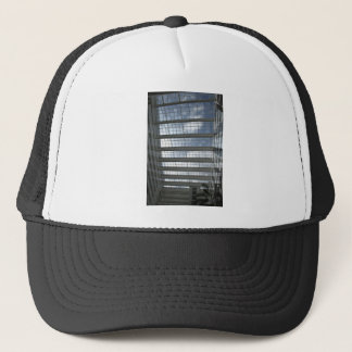 Town hall roof trucker hat