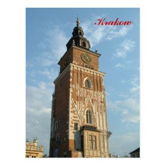 Town Hall Tower Postcard