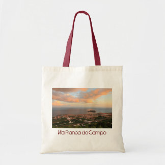 Town in the Azores Bags