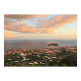 Town in the Azores Card