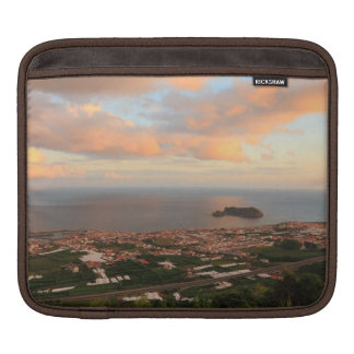 Town in the Azores iPad Sleeves