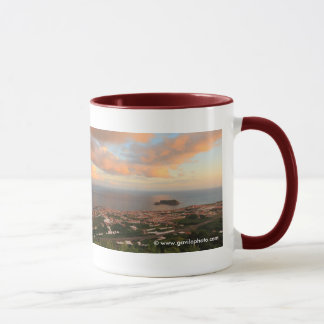 Town in the Azores Mug