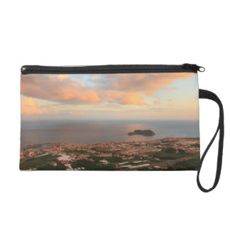 Town in the Azores Wristlet Purse