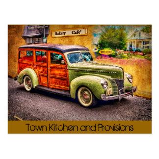 Town Kitchen Post Card