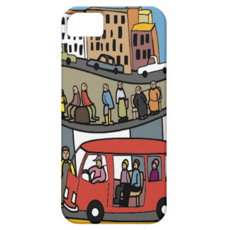 Town life iPhone SE/5/5s case