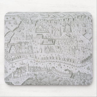 Town map of Constantinople, Turkey, c.1650 (engrav Mouse Pad