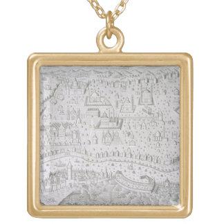 Town map of Constantinople, Turkey, c.1650 (engrav Custom Jewelry