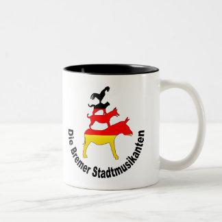 Town Musicians of Bremen Coffee Mug