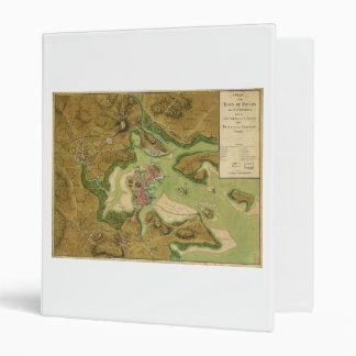 Town of Boston Map by Thomas Hyde Page (1776) 3 Ring Binder