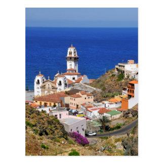 Town of Candelaria at Tenerife Postcard