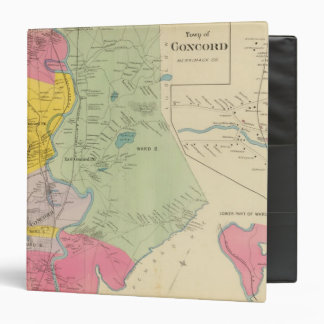 Town of Concord W Concord PO 3 Ring Binder