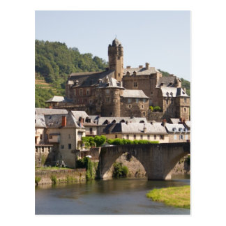 Town of Estaing Postcard