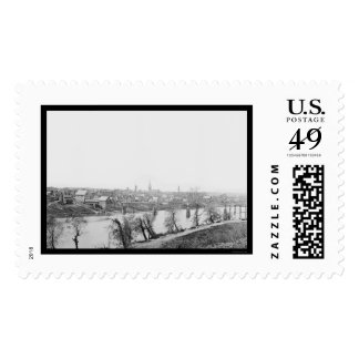 Town of Fredericksburg, VA 1863 Postage Stamp