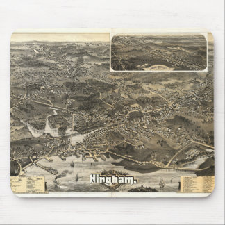 Town of Hingham, Massachusetts (1885) Mouse Pad