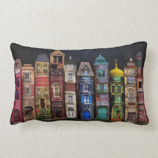 Town Of Knowledge Lumbar Pillow