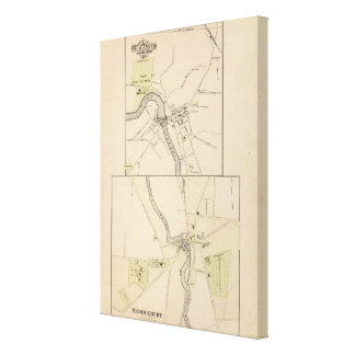 Town of Middlebury Canvas Print