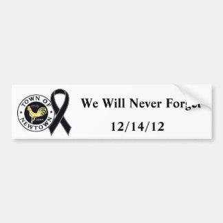 Town of Newtown Tribute Bumper Sticker