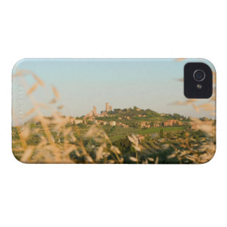 Town on a hill, San Gimignano, Siena Province, 2 iPhone 4 Cover