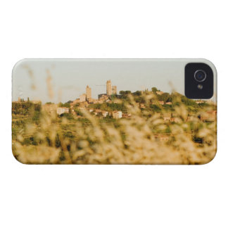 Town on a hill, San Gimignano, Siena Province, iPhone 4 Case-Mate Case