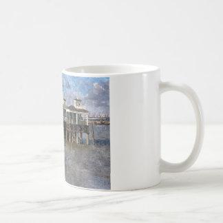 Town Pier, Gravesend, Kent, England Coffee Mug
