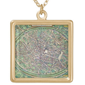 Town Plan of Bruges, from 'Civitates Orbis Terraru Pendants
